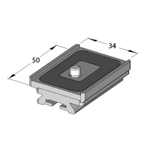 Arca Swiss MonoballFix Hasselblad Variokit plate