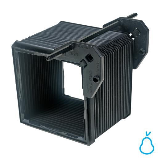 """Used Sinar P2 5x4"""" Bellows with Rod and Clips (Lens Shade Compendium)"""