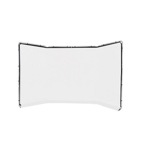 Panoramic Background 4m White