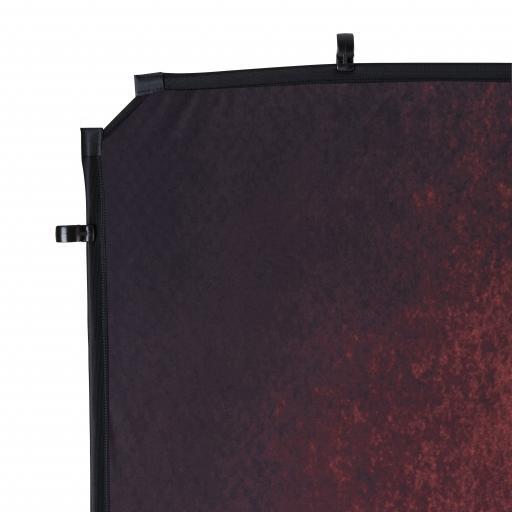 EzyFrame Vintage Background Cover 2 x 2.3m Crimson